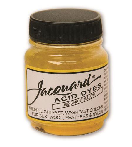 Acid dye 14gr. #bright yellow - JAC1602_ACID DYE-BRIGHT YELLOW-HALF-OZ_CMYK