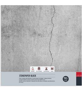Bloc papel de piedra 40 hojas 192gr 30cm x 30cm - 182150