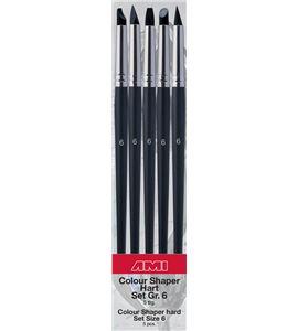 Estuche de pinceles de silicona nº6 de 5 formas diferentes - AM-575845