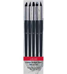 Estuche de pinceles de silicona nº10 de 5 formas diferentes - AM-575855