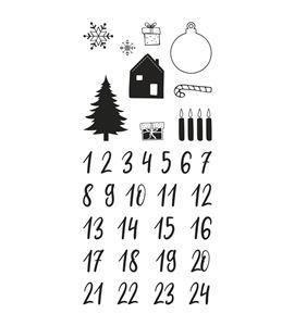 Sellos transparentes: calendario de adviento clásico - 50223000_PF