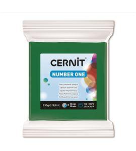 Arcilla polimérica cernit number one 250gr verde - CE0900250600_VERT