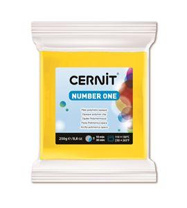 Arcilla polimérica cernit number one 250gr amarillo - CE0900250700