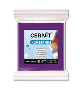 Arcilla polimérica cernit number one 250gr púrpura - CE0900250900