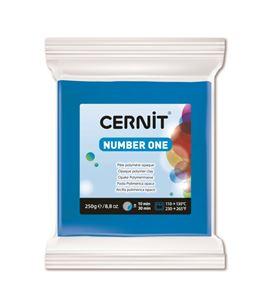 Arcilla polimérica cernit number one 250gr azul - CE0900250200_BLEU