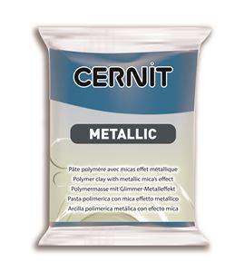 Arcilla polimérica cernit metallic 56gr azul - CE0870056200_BLEU