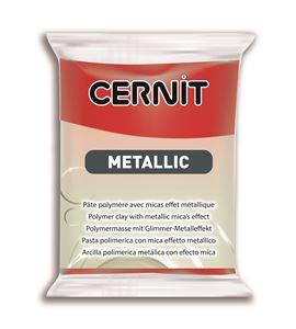 Arcilla polimérica cernit metallic 56gr rojo - CE0870056400_ROUGE
