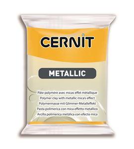 Arcilla polimérica cernit metallic 56gr amarillo - CE0870056700_JAUNE