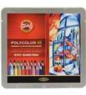 Estuche metálico 48 lápices polycolor koh-i-noor