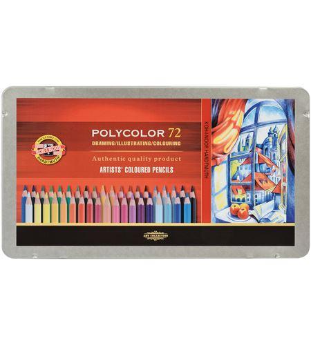 Estuche metálico 48 lápices polycolor koh-i-noor - KN362826