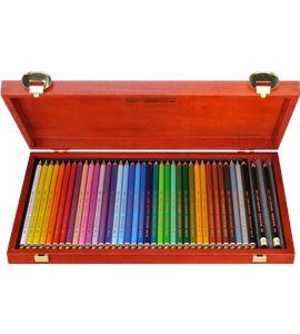 Estuche de madera 36 lápices polycolor koh-i-noor - AM-KN362827