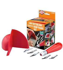 Kit de linograbado con protector de mano de seguridad - L5SSG SAFETY HAND GUARD SET WITH CONTENTS