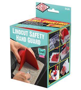 Protector de mano para linograbado - SGR SAFETY HAND GUARD