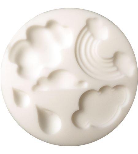 Molde silicona cernit 9x9 nubes - CE95117_NUAGES_300DPI_CMJN