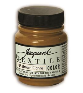 Textile color - ocre marrón 70 ml - JAC1135