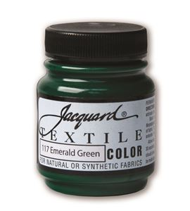 Textile color - verde esmeralda 70 ml - JAC1117