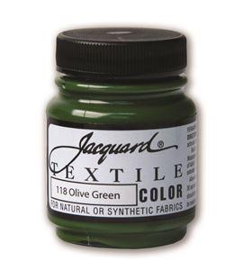 Textile color - verde oliva 70 ml - JAC1118