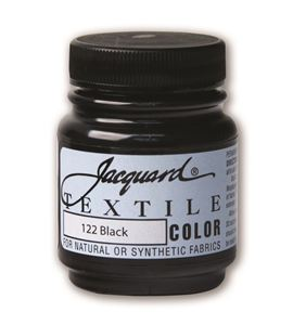 Textile color - negro 70 ml - JAC1122