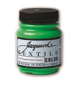 Textile color - verde fluor 70 ml - JAC1156