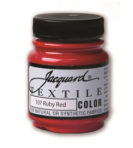 Textile color - rojo rubí 70 ml - JAC1107