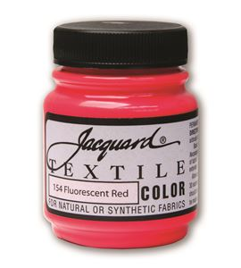 Textile color - rojo fluor 70 ml - JAC1154
