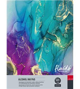 Papel tipo yupo tinta alcohol bloc 15 hojas 525gr 24x32cm - 182372