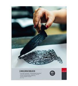 Bloc de papel japonés para linograbado-xilografía 20 hojas 23x31cm 60 gr m2 - 182380