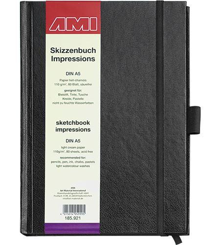 Cuaderno de dibujo técnica mixta a5 110 gr m2 - AM-185921