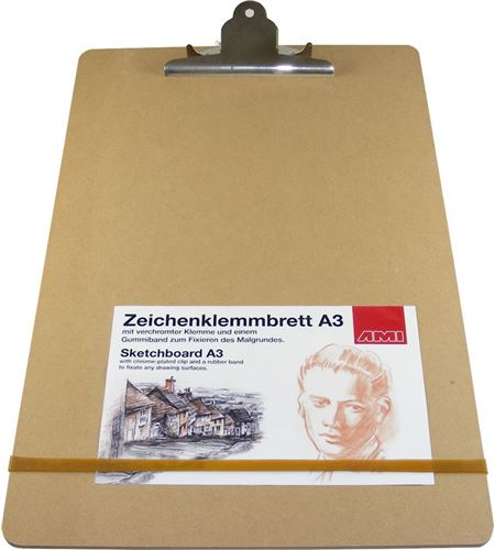 Tablero portapapeles a3 con pinza de sujeción - AM-446794