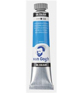 Óleo van gogh 20 ml azul cerúleo ftalo - TA-02045353