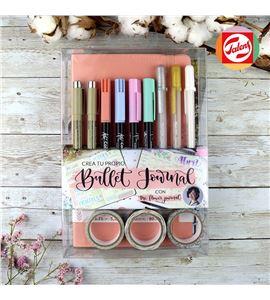 Crea tu propio bullet journal rosa pastel - PO20002