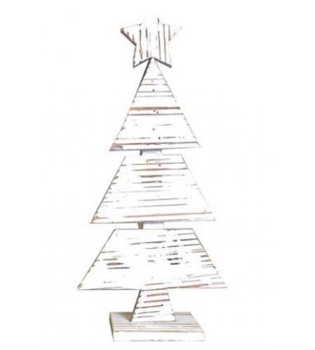 Abeto nevado con estrella 44cm - 14001864
