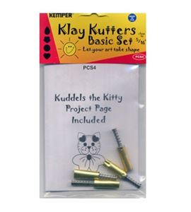 Kit 4 cortadores con expulsor para hacer gatitos - PCS4