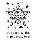 Plantilla / stencil - estrella