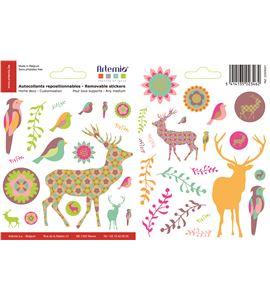 Adhesivos reposicionables - animalitos - 22005001