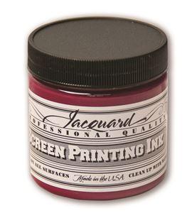 Tinta serigrafía profesional jacquard 118,29 ml magenta - JSI1107