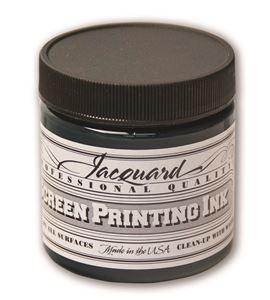 Tinta serigrafía profesional jacquard 118,29 ml verde - JSI1115