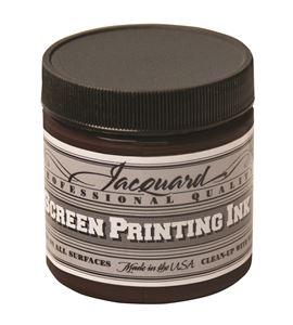 Tinta serigrafía profesional jacquard 118,29 ml marrón - JSI1116
