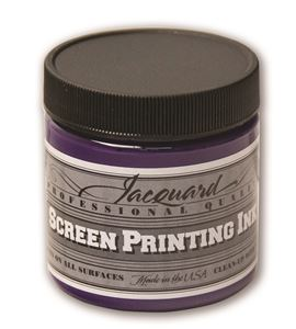 Tinta serigrafía profesional jacquard 118,29 ml violeta opaco - JSI1127