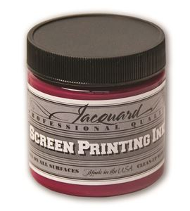 Tinta serigrafía profesional jacquard 118,29 ml magenta process - JSI1141