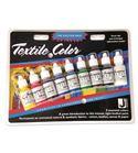 Estuche 9 colores de pintura textil textile color jacquard 14,79 ml