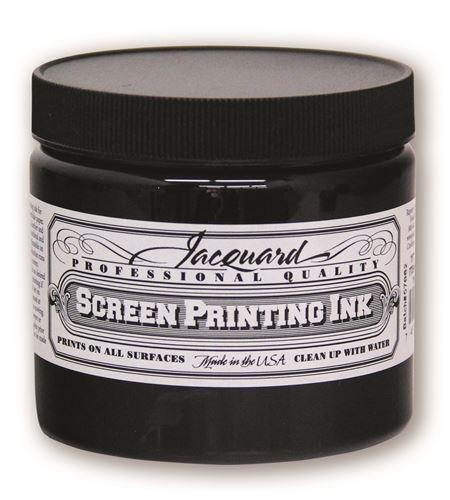 Tinta serigrafía profesional jacquard 473,18 ml negro - JSI3117