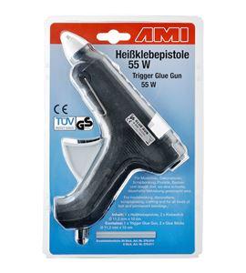 Pistola de pegamento termofusible 55 w - 278000