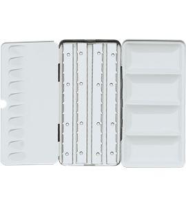 Caja de acuarela metálica vacía premium 24/48 unidades - AM-507493