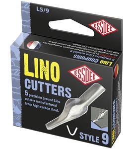 Gubia para linóleo modelo nº 9 x 5 unidades - L5-9