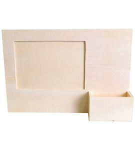 Home deco marco de madera con soporte - 14001767