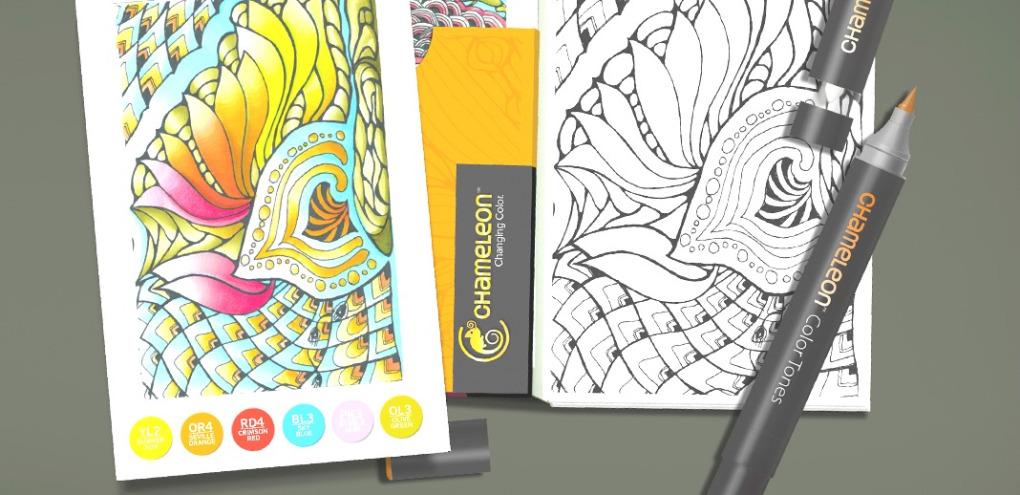 ¡Novedad Chameleon! Color Cards